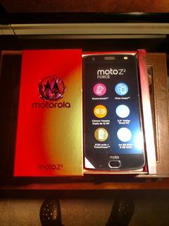 Motorola Z2, Novo, Na Caixa, Sem Uso, Com Nf De Maio