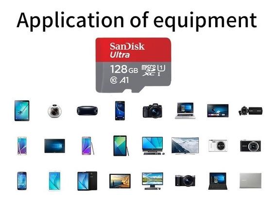 Cartão Micro Sd 128gb Ultra Sandisk Original Envio Imeiato