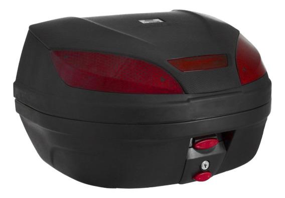 Bauleto Moto Baú Traseiro Caixa Protork 30l +suporte Fixação