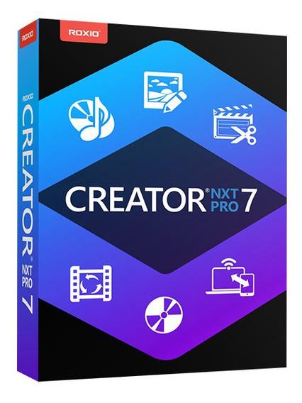 Roxio Creator Nxt 7 Pro (receba Hoje)