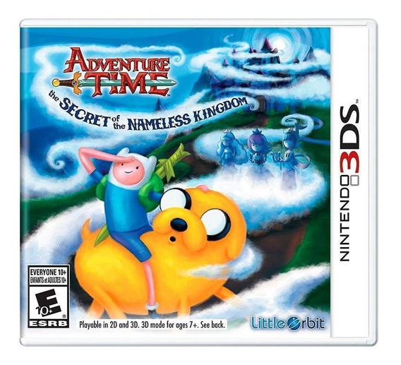 Adventure Time The Secret Of The Nameless Kingdom 3ds Física
