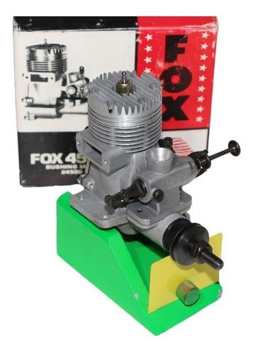 Motor Glow F O X .45 R / C # 24500 N. I. B. Bushing Main.