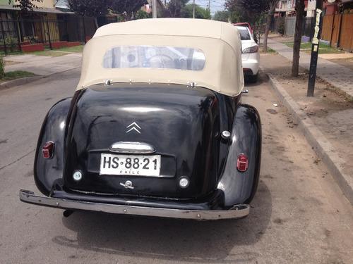 Citroen 11 Ligero Decoubrable 1947 Unico En Chile