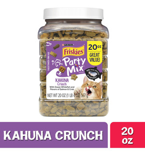 Comida Para Gatos 20 Onzas Friskies Party Mix Kahuna Crunch