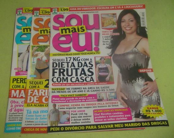 Lote Com 3 Revistas Sou Mais Eu - Códico 345