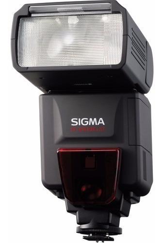 Flash Sigma Ef-610 Dg St Para Canon Cameras Com T T L