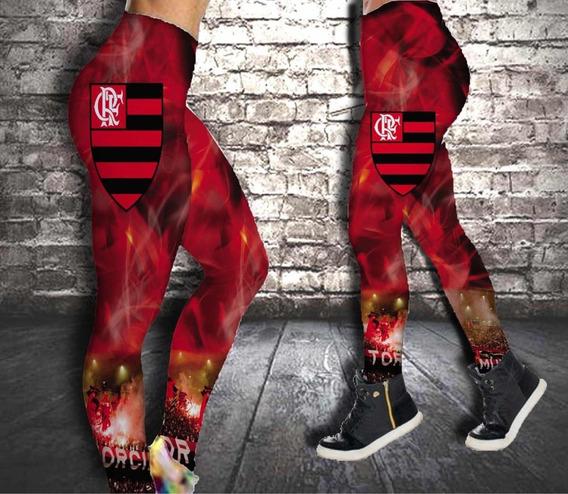 Calça Legging Adulto Flamengo