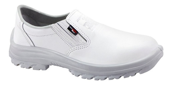 Sapato Branco Com C.a (cozinha/frigorifico) Kit 6 Pares