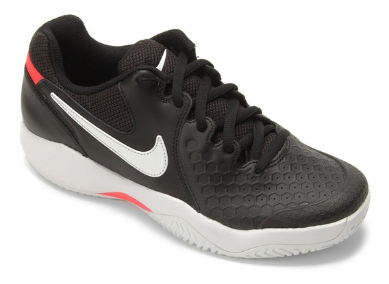 Tênis Nike Air Zoom Couro Resistance Masculino - Preto E Gel