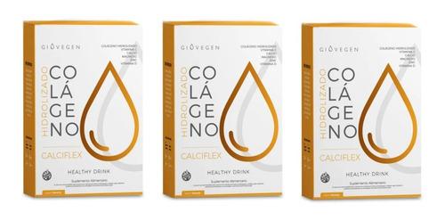 Giovegen Calciflex - Colágeno Bebible 3 Meses De Tratamiento