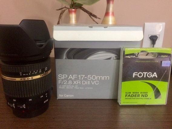 Lente Tamron 17-50mm 2.8 Para Canon Vc (com Estabilizador)