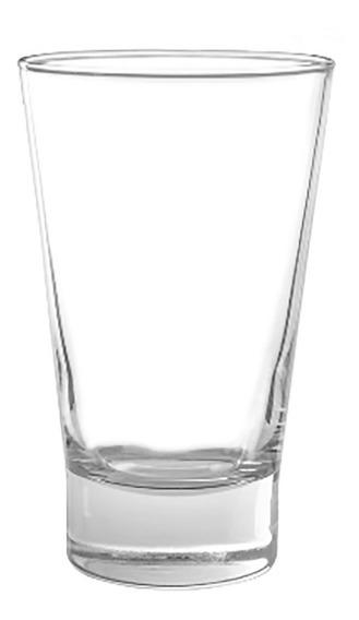 Vaso Vidrio London Alto Cristar 400 Ml Pack X6 Unidades