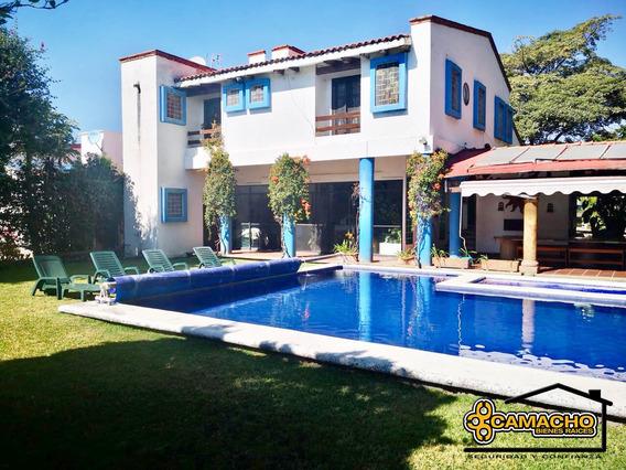 Casa En Venta En Lomas De Cocoyoc Olc-2031