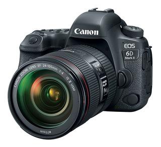 Camara Canon Eos 6d Mark Ii C/lente Ef 24-105mm Is L F4,
