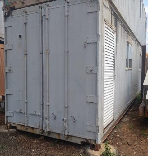 Container 40 Pés Inox - Ano 2011 - Com Janelas, Portas*