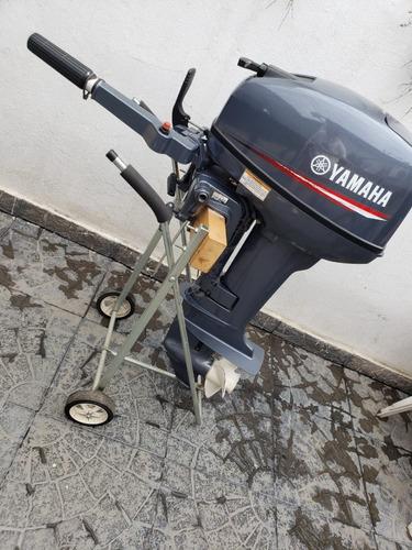 Imagen 1 de 8 de Motor Yamaha 15fmhs