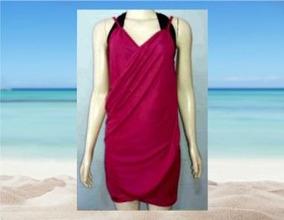 26a7ffb21 Canga Branca Lisa - Cangas de Praia Femininos Rosa-chiclete com o ...