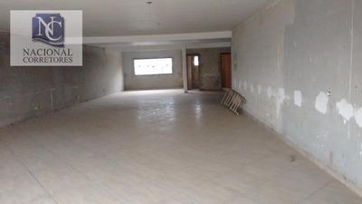 Salão Comercial Para Locação, Vila Curuçá, Santo André. - Sl0519