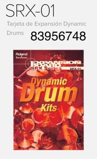Srx-01 Roland Dynamics Drums Tarjeta De Expansión