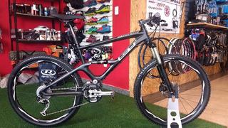 Bicicleta Mtb Gt Zaskar Full Supension - Carbono