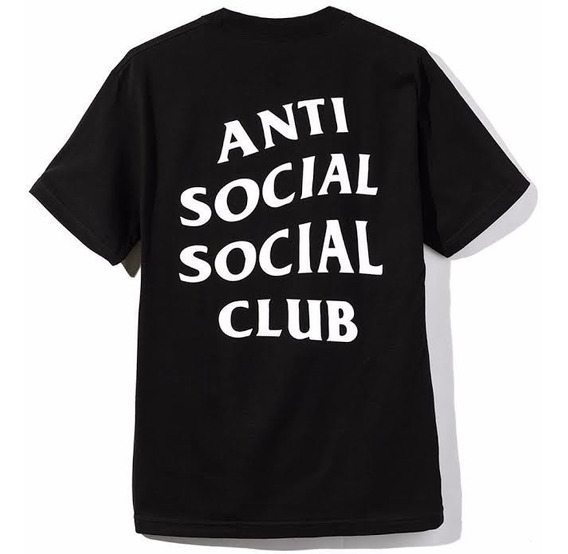 Playera Anti Social Social Club Swag Original Moda Unisex