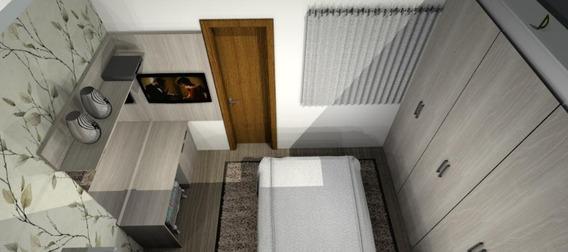 Cobertura Com 2 Dormitórios À Venda, 47 M² Por R$ 285.000 - Vila Guiomar - Santo André/sp - Co0054