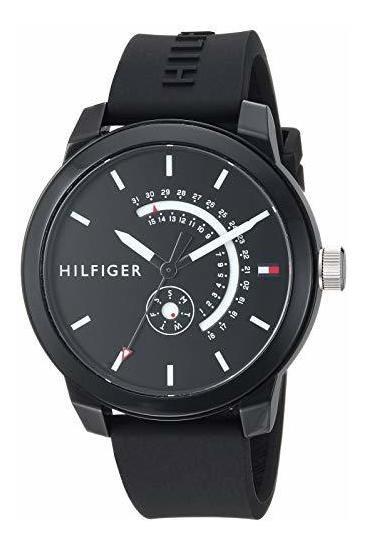 Tommy Hilfiger 1791483 - Reloj De Cuarzo Con Correa De Silic