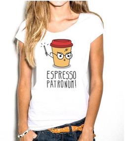 Blusa T Shirt Feminina Estampa Harry Potter Promoção Envio