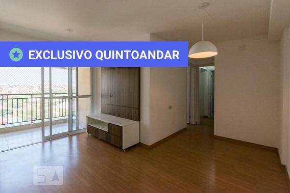 Apartamento No 9º Andar Com 2 Dormitórios E 2 Garagens - Id: 892972098 - 272098