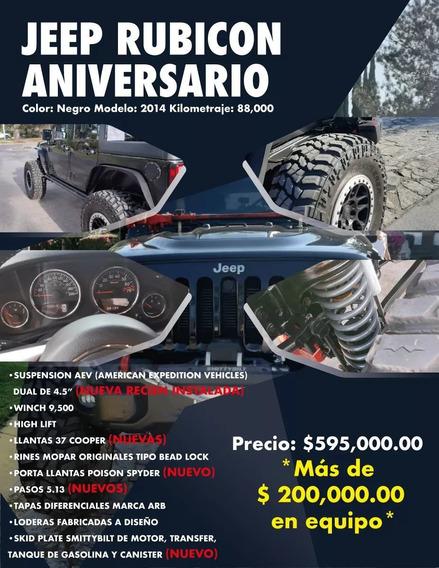 Jeep Rubicon Aniversario