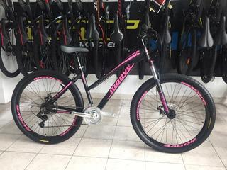 Bicicleta De Dama Mtb Moove Rodado 27.5 Aluminio