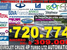 Chevrolet Cruze 4 Puertas Automatico A Precio De Empleados