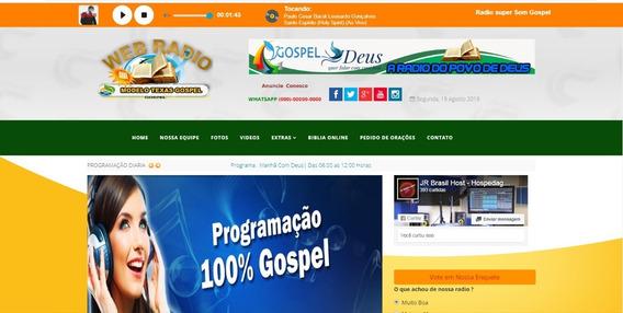 Streaming + Site Administravel + Aplicativo No Google Play