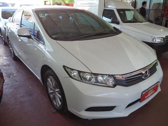 Honda Civic Sedan Lxs 1.8 Branco 2014