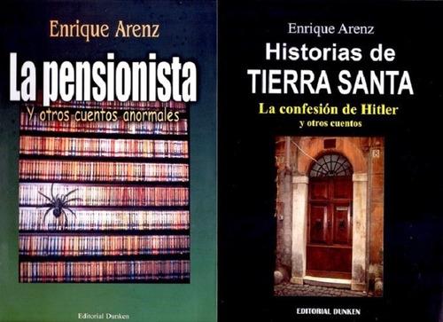 Dos Libros De Cuentos De Enrique Arenz