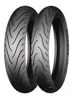 Llantas Michelin 150/60r-17 + 110/70r-17 Pilot Street Radial