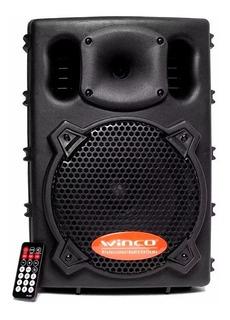 Parlante Activo Winco W208 Bluetooth Karaoke Mic Sd Usb 300w
