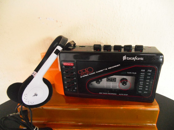 Antigo Walkman Broksonic (funcionando Somente O Rádio Am/fm)