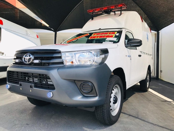 Toyota Hilux Ambulancia Simples Chasis 4x4 2p