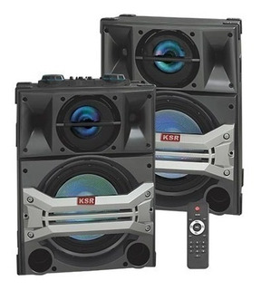 Sistema De Audio Doble Surround Con X-bass Bluetooth 6412