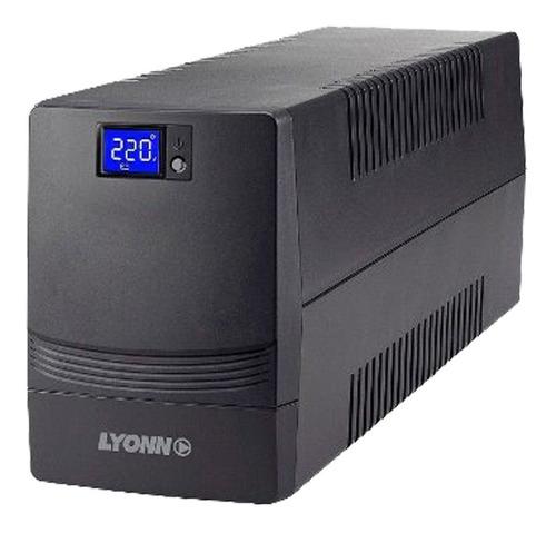 Ups + Estabilizador Lyonn Desire-500 500w 500va + Soft + Usb
