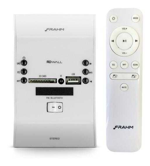 Amplificador Bluetooth De Parede Som Ambiente Frahm Slim Usb