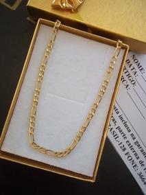 Bracelete Unissex Ouro 18kl Modelo Corrente