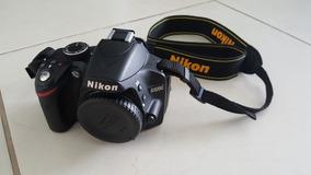 Câmera Nikon D3200 Com 2 Lentes E Kit Completo