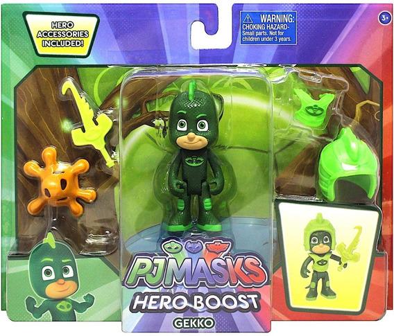 Juguete Para Niños Originales Pj Masks Hero Boost Figure Set