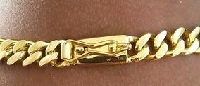 Cordão 60cm 12mm Grumet - Banhado A Ouro - Elos Soldados