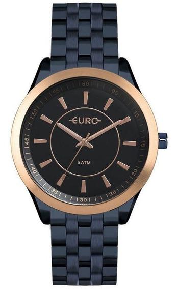 Relógio Euro Feminino Color Slim Azul - Eu2035yox/4a