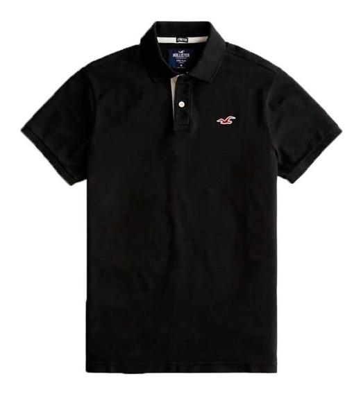 Camisa Polo Hollister Abercrombie Original Strech Eua