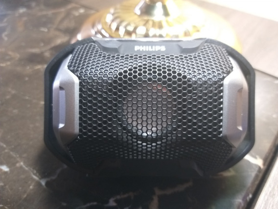 Caixa De Som Portátil Philips Shoqbox Sb300b/00 À Prova D