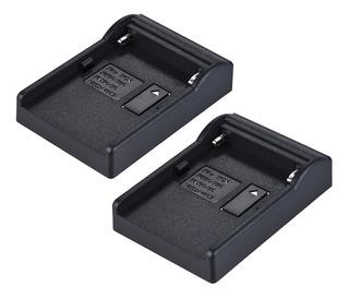 Cargador De Batería Cargador Por Sony Np-f550 F750 F950,2pz